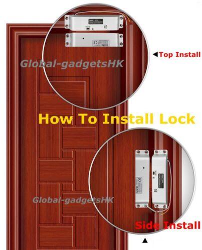 DC12V Electric Drop Bolt Lock Fail-Safe for Door Access Control System 1800lbs