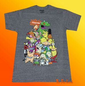 99a9b3a2 New Nickelodeon 90's Group Men's Vintage Classic Retro T-Shirt | eBay