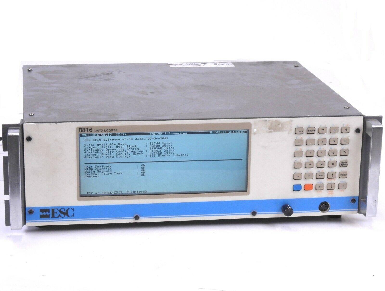 ESC 8816 Data Logger