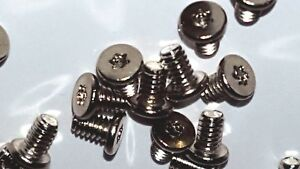 V2614 SCR,M2X3,SLR,T5,BLO Screw Torx t5 Drive Silver Replacements