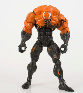 Marvel-Comic-7-034-Spiderman-Spider-Man-Variant-Orange-Venom-Loose-Action-Figure