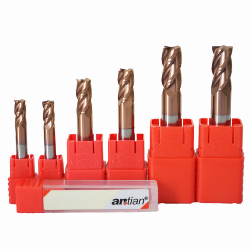 1pcs 55° 4Flute D14*100L Tungsten carbid cutter End mill Drill Bit