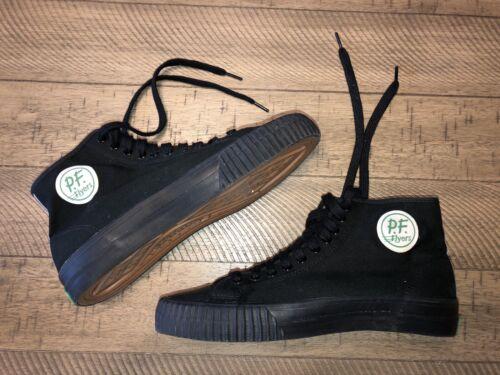 PF Flyers Sandlot Canvas Sneakers All Black Size 1
