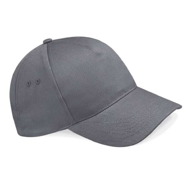 98cd6ee56fbcc5 Beechfield Ultimate Cotton Cap Bb15 GPH One Graphite for sale online ...