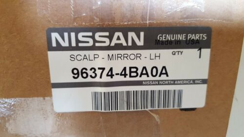 RIGHT SIDE MIRROR CAP//COVER NEW OEM 2014-2016 NISSAN ROGUE PAINTED PASSENGER
