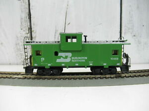 Athearn-HO-Scale-Wide-View-Caboose-Burlington-Northern-10469
