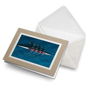 Greetings-Card-Biege-Women-039-s-Oxford-Cambridge-Boat-Race-16060