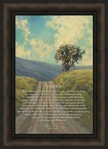 Superbe Image Is Loading LIVING LIFE By Bonnie Mohr 16x22 Tree Inspirational