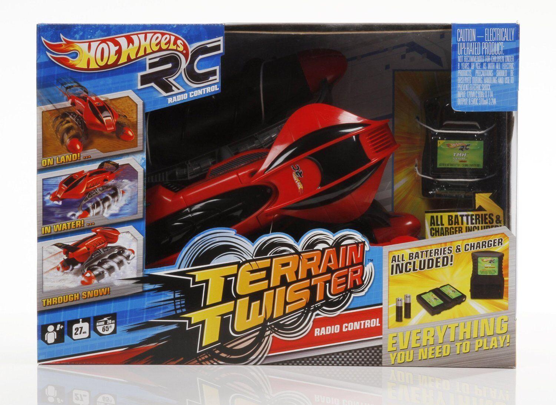 caliente ruedas RC Terrainac Twister  27 MHZ rosso nuovo  marchi di stilisti economici