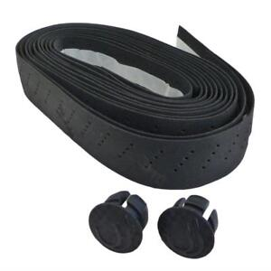 Bicycle Handlebar Tape PU Leather Breathable Soft MTB Bike Road Fixed Gear Belt