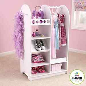 Image Is Loading Little Girls Complete Dress Up Custume Clothes Dresser