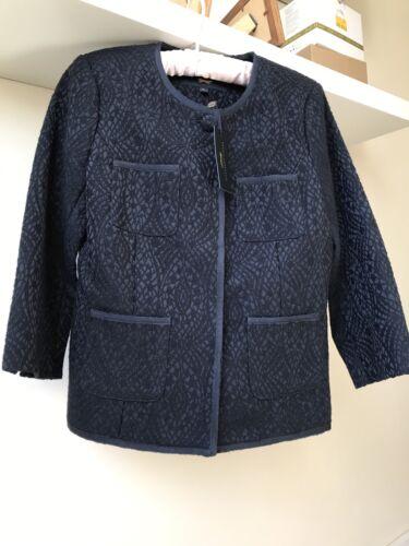 corto 8 donna Bnwt da Giacca blu cotone misto Costelloe Xs in Paul Sz fqw61nO8Sn