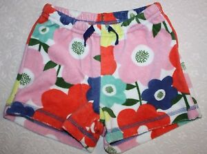 0c393a9ea Image is loading Mini-Boden-Girls-Toweling-Shorts-Floral-4-Years