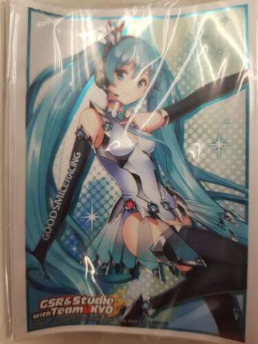 Hatsune Miku with Team kyo Part.2 Promo Card Sleeve Bushiroad Weiss
