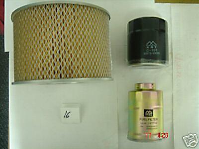 TOYOTA Landcruiser Prado Colorado 3.0 TD 1KZ Filtre à huile filtres à air filtre à carburant
