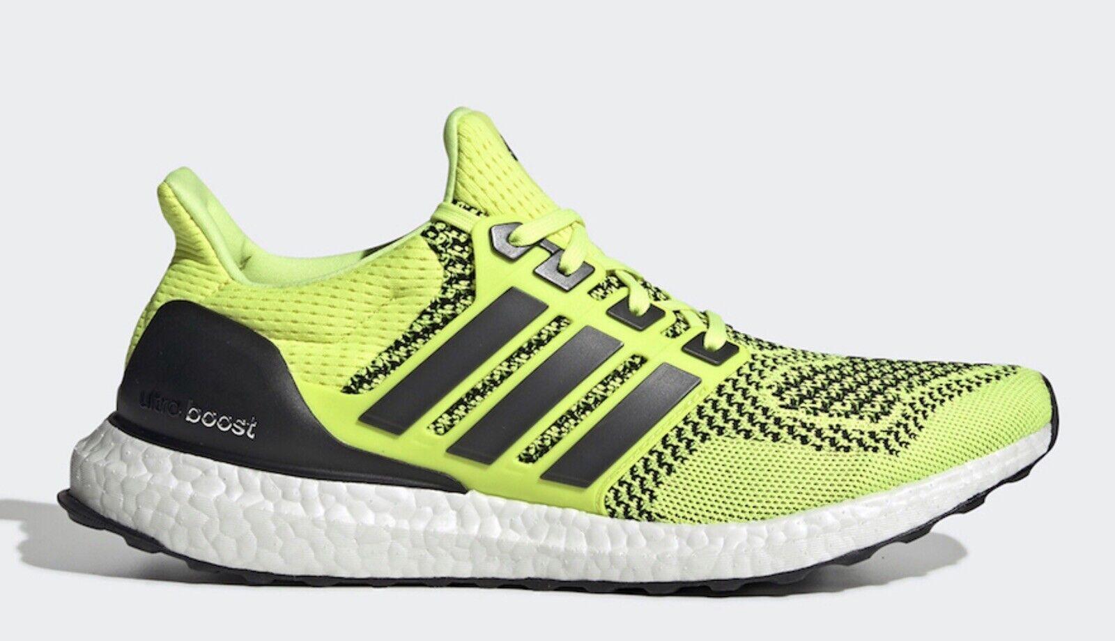 Adidas Ultra Boost 1.0 Solar Gelb NEU EUR 44 UK 9,5 US 10