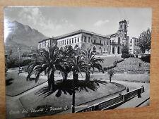 CARTOLINA vecchia foto d epoca CAVA DEI TIRRENI PIAZZA SAN FRANCESCO 1959 epoca