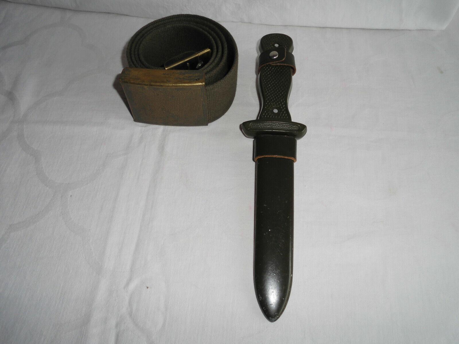 Bild 1 - BW Feldmesser/Jagdmesser und BW Feldgürtel/Koppel