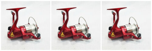 OPT101R HT OPTIMAX 101 CRAPPIE POLE REEL SET OF THREE REELS RED