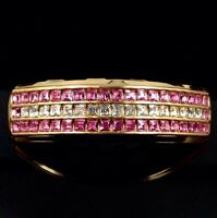 Premium Grillz Pink Iced Out 14k Gold Plated Cz Top Girls Grills For Teeth Bling