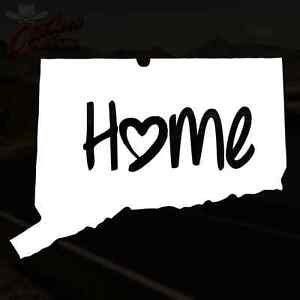 Ct Pick 3 >> Connecticut Decal Home Sticker Hartford Ct Yale Pick Your Size