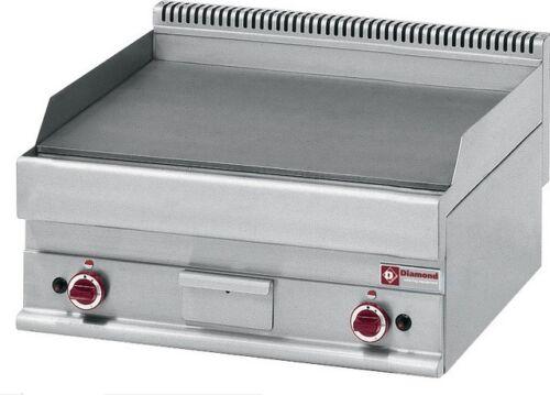 Modular Gas Grillplatte Bratplatte Griddleplatte GLATT 700x650x280mm Gastlando