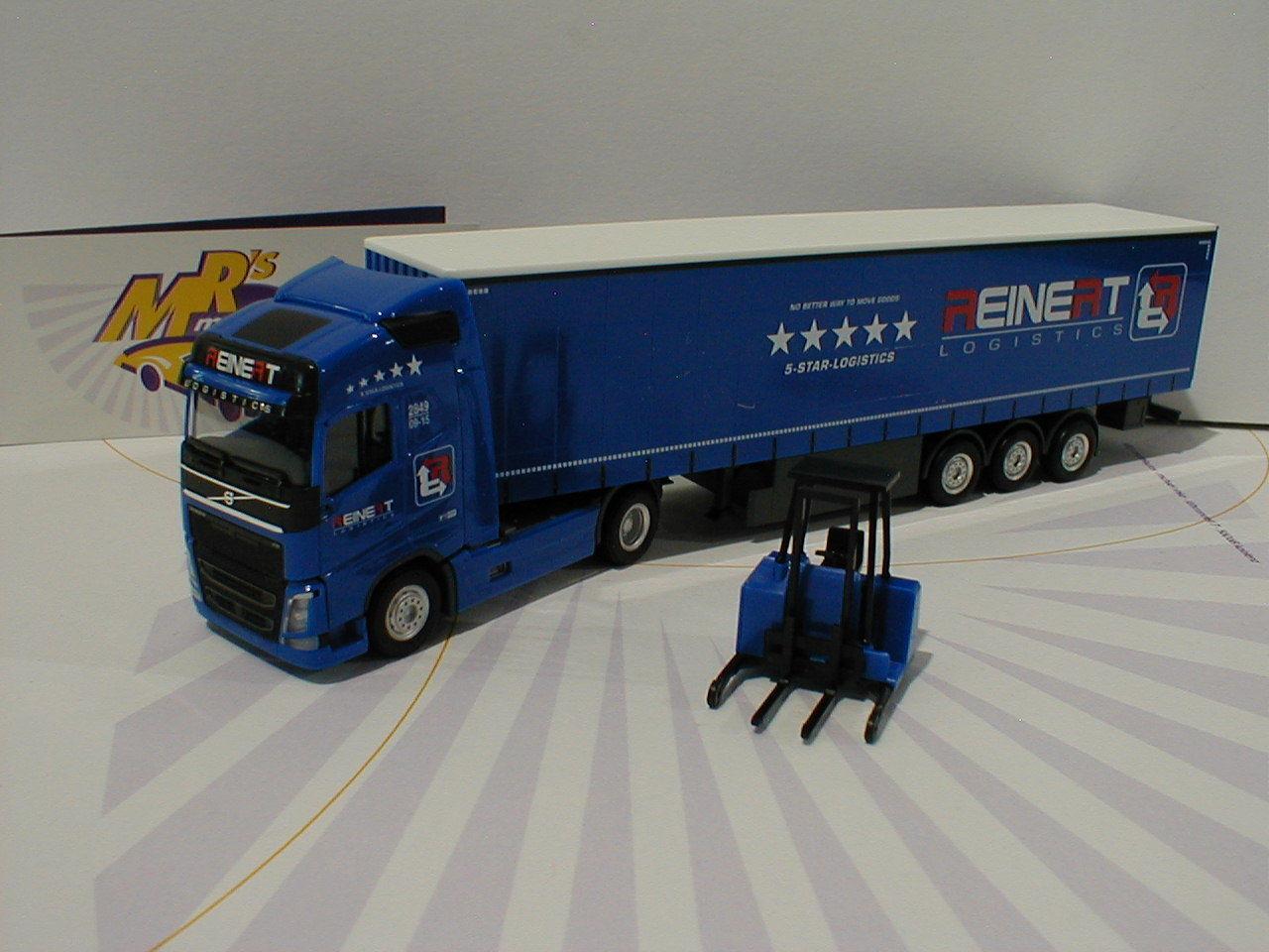 orden en línea Herpa 308465-Volvo FH GL. remolCochese camiones con apilador apilador apilador  Reinert Logistics  1 87  80% de descuento