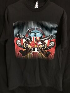Tom-Petty-The-Heartbreakers-T-Shirt-Mojo-Tour-2010-2-Side-Cities-Dates-Concert-L