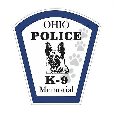 3M Graphics K-9 Dog Police Army Jdm Cute Funny Car Window Truck Motor Sticker