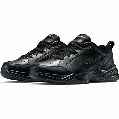 NIKE Air Monarch IV Black Nero SNEAKERS RUNNING Scarpe da ginnastica uomo Man | eBay