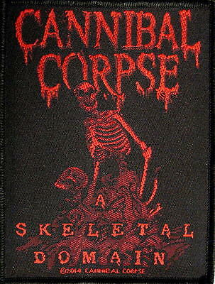 "CANNIBAL CORPSE PATCH / AUFNÄHER # 22 ""A SKELETAL DOMAIN"""