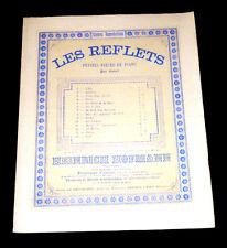 sur le luth petite pièce partition piano 1877 Heinrich Hoffmann