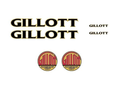 A S Gillott Bicycle Decals-Transfers-Stickers #2
