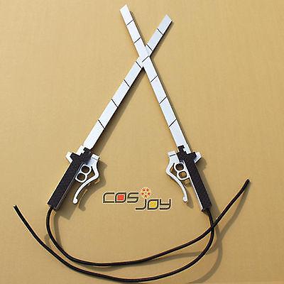 """Cosjoy 33"""" Attack On Titan Corps member's Swords PVC Cosplay Prop-0208"""