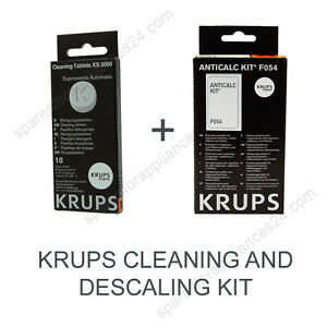 KRUPS-CLEANING-AND-DESCALING-KIT-FOR-COFFEE-ESPRESSO-MACHINE-XS3000-F054
