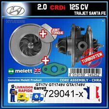 CHRA Melett Hyundai Trajet Santa Fe 2.0 CRDi 125 Turbo 729041 GT1749V