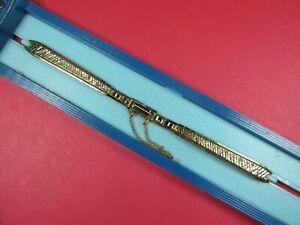 NEW-KREISLER-Vintage-10K-Gold-Filled-Ladies-Watch-Band-5-1-4-034-amp-Stretch-WOW