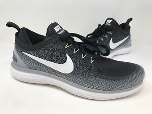 23ba6b94cdbeb New! Women s Nike 863776-001 Free RN Distance Running Shoes Black ...