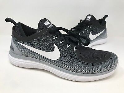 Nike Free RN Distance 2 Men's Running Shoes Cool Grey Wolf