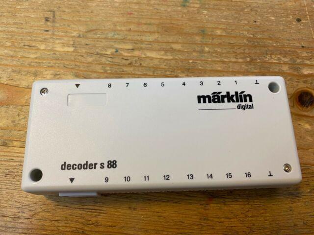 Decoder s 88 DC M/ärklin 60882