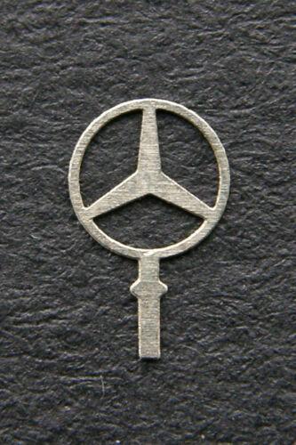 10x Mercedes-Benz STERN Star Logo Kühler Emblem 4,6mm  1:18  AutoArt CMC SunStar