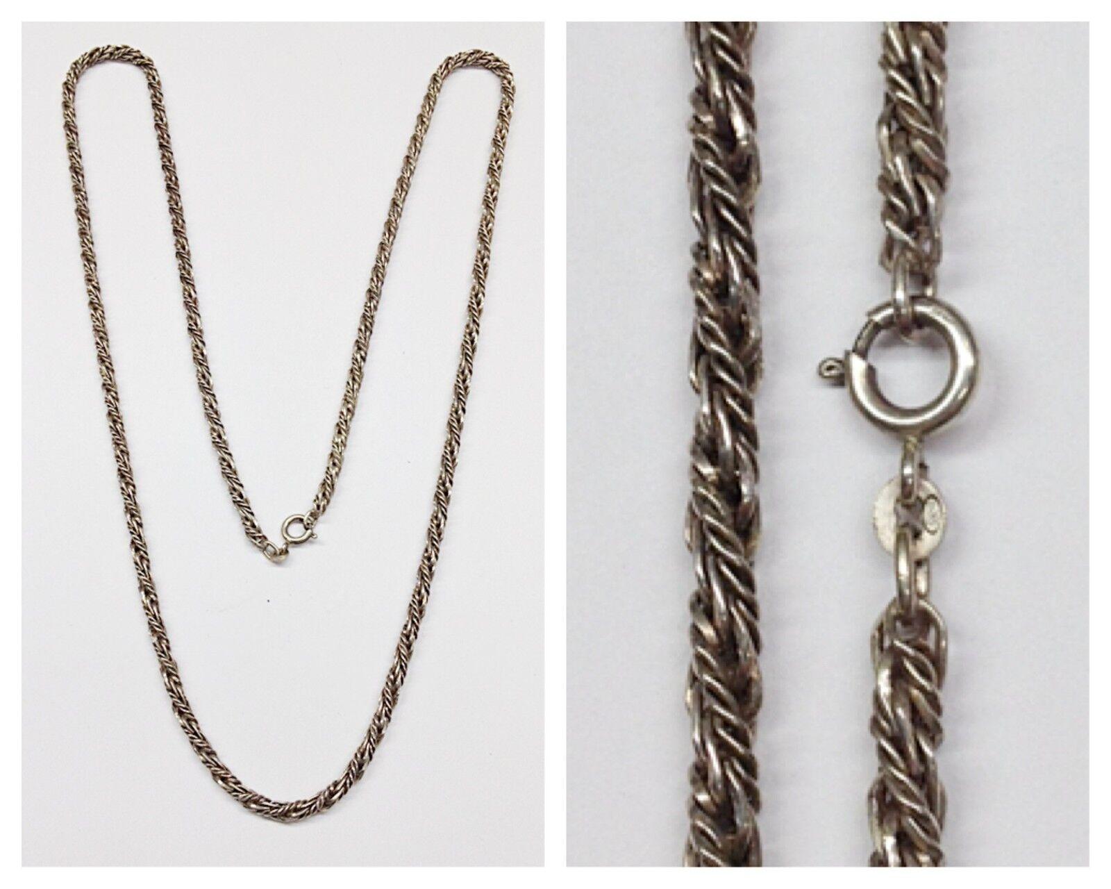 Cadena de silver 835 Cadena de silver collar de silver collar joyería silver L 80cm