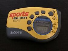 Sony Sports Walkman SRF-M78 Portable AM/FM Stereo Radio Player TESTED