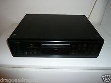 Denon DMD-1000 MiniDisc Recorder, Schwarz, DEFEKT