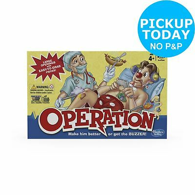 Operation Board Game from Hasbro Gaming 1+ Players 6+ Years Hasbro