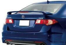 UN-PAINTED- GREY PRIMER FOR ACURA TSX 2009-2014 SPOILER W/LED LIGHT INCLUDED