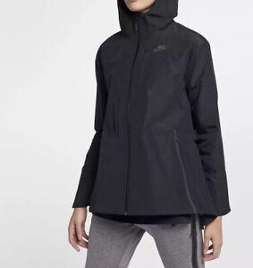 869c7f6501f33 Nike Sportswear Women's Tech Pack Shield Hooded Jacket 883489-010 ...