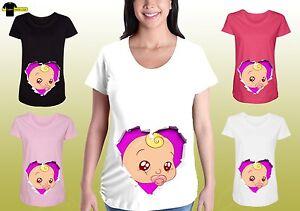 1e953e6562c7c Image is loading Funny-Maternity-Graphic-Shirts-Pregnancy-Tee-Cute-Maternity -
