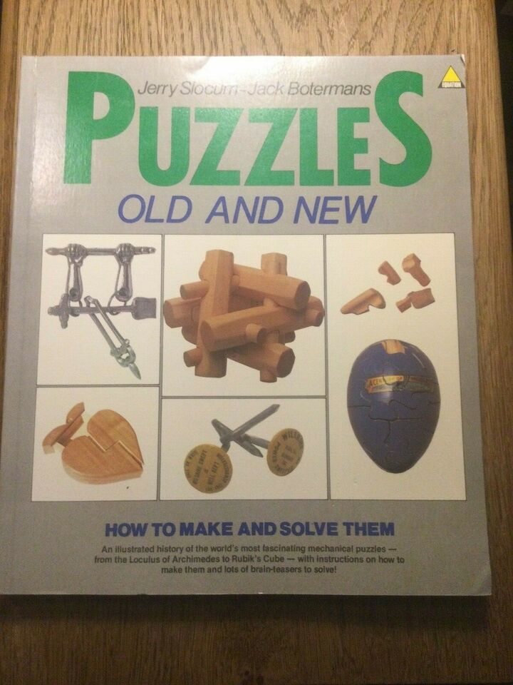 Puzzles Old and New , Jerry Slocum- Jack Botermans, år 1986
