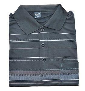MAGLIETTA-POLO-uomo-MANICA-CORTA-maglia-COTONE-t-shirt-casual-classica-a-righe
